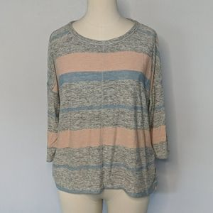 Lou & Grey Oversized Sweater Top Size Small New